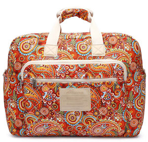 Malirona Women's Canvas Overnight Weekender Bag Carry On Travel Duffel