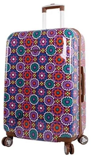 Lily Bloom Desert Sierra Hardside Suitcase