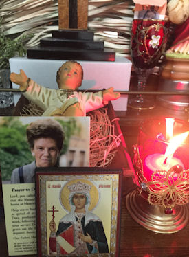 Candle & Icon